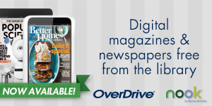Overdrive - Digital magazines & newspapers free from the library
